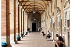 A Palazzo Apostolico árkádja