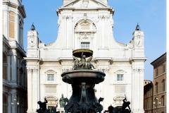 Basilica della Santa Casa szökőkúttal