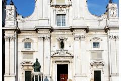 Basilica della Santa Casa szökőkút nélkül